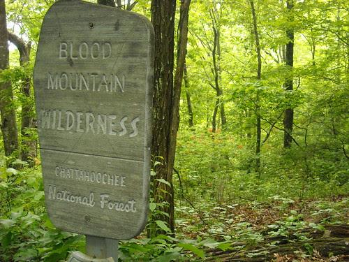 Trailhead on AT to Big Cedar Mountain