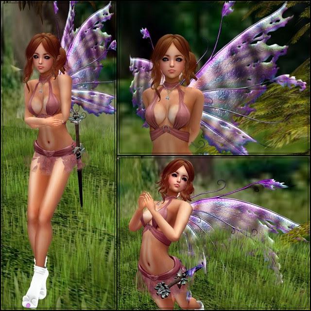 *Solange!* Petite Petalwing - MAUVE 01