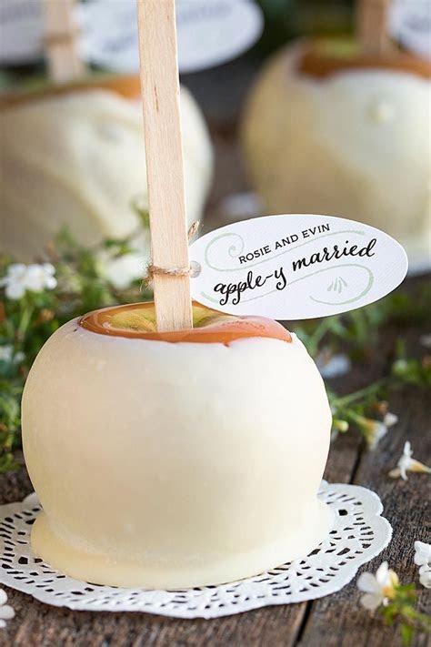Caramel Apples   Recipe   Wedding Favor Ideas   Wedding