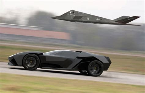 This Lamborghini is the Batmobile of your nightmares Driving