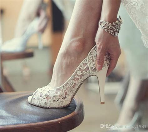 25  best ideas about Low heel wedding shoes on Pinterest
