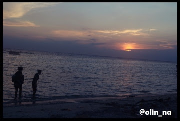 sunset in payung island