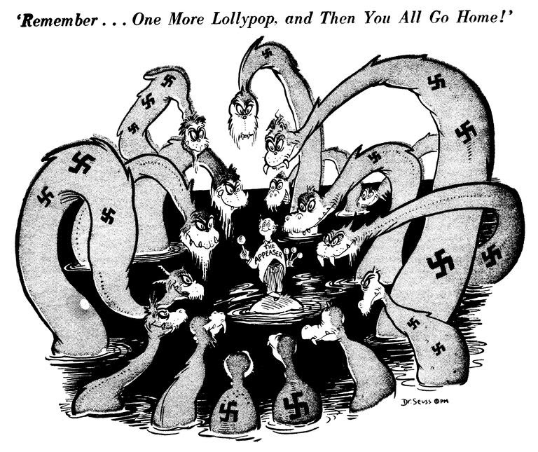Image result for Dr. Seuss's Political Cartoons