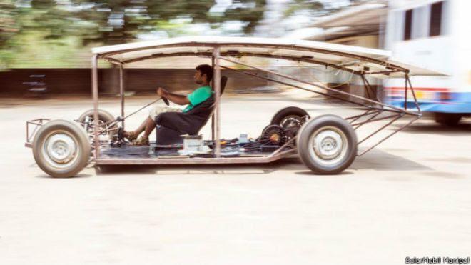 Quando teremos carros movidos a energia solar?