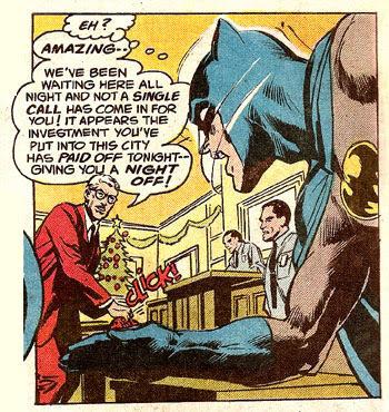 Batman #219 panel