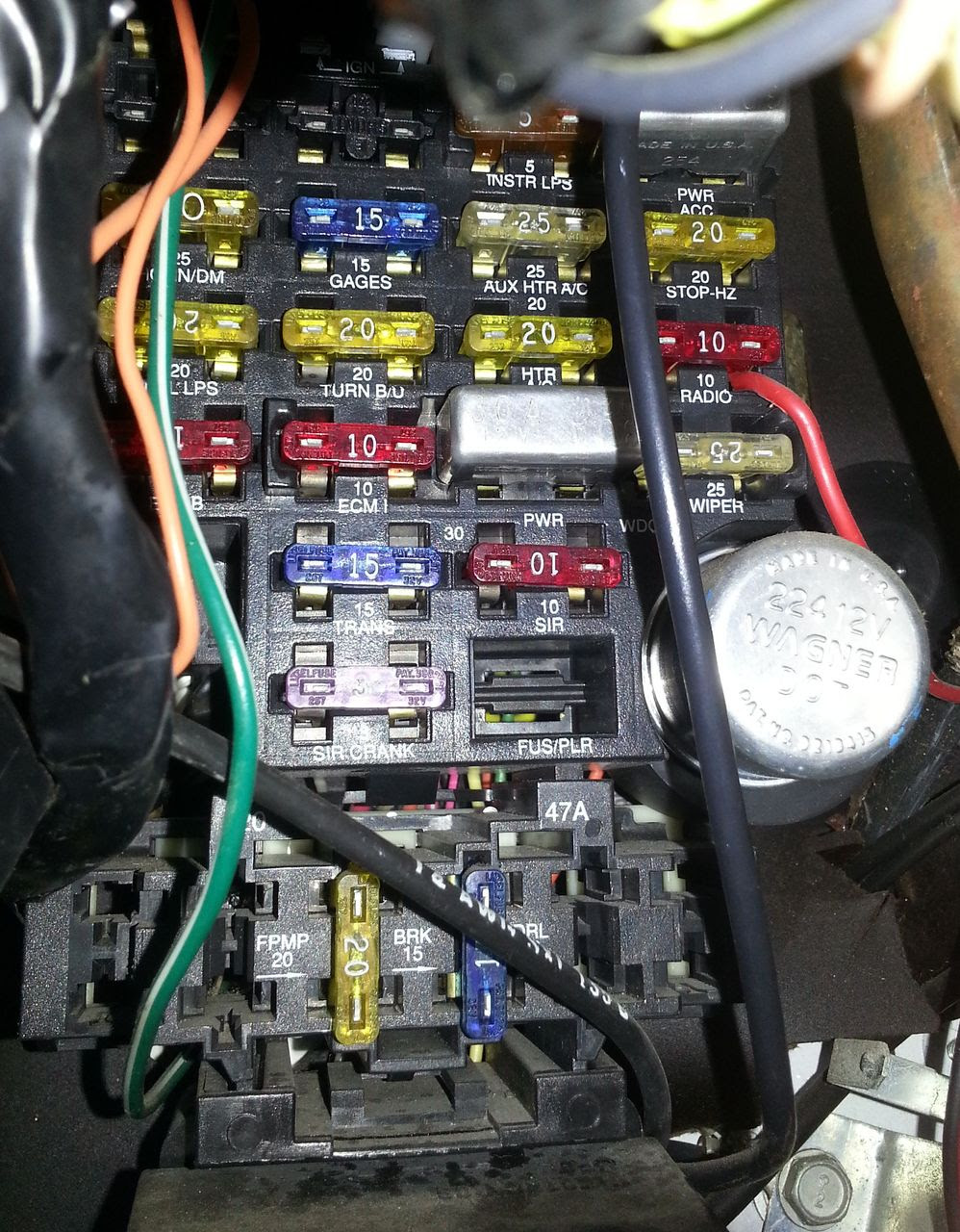 C2d2 95 Impala Ss Fuse Box Wiring Resources
