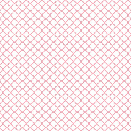 15-pink_grapefruit_BRIGHT_small_QUATREFOIL_OUTLINE_melstampz_12_and_a_half_inches_SQ