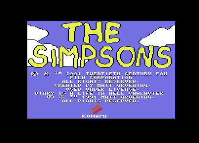 The Simpsons - Arcade Game