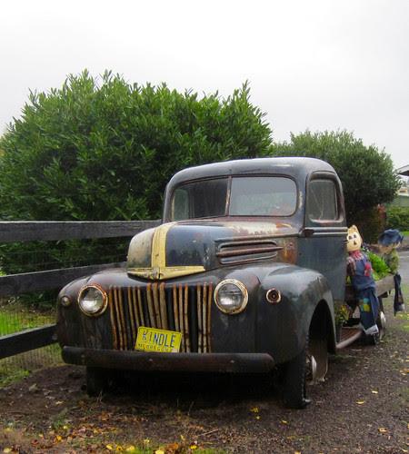 Old truck, Howell Prairie Rd