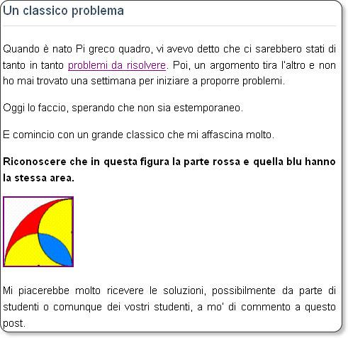 http://www.danielegouthier.it/pigrecoquadro/un-classico-problema.html