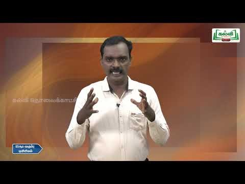 12th Geography புவித் தகவலியல் பாடம் 6 Kalvi TV