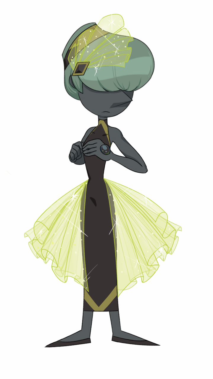 A nice pic of Tahitian Pearl. created with heavy personality flaws, White Diamond was well on her way to having her shattered before Charoite offered to take her in (for selfish purposes of course)...