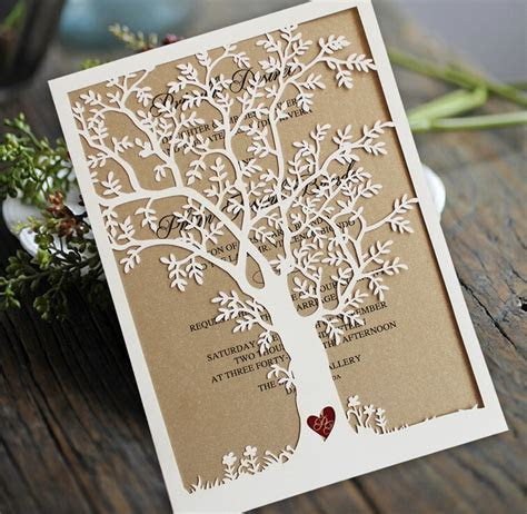 Popular Rustic Wedding Invitations Buy Cheap Rustic