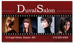 BCS-1104 - salon business card