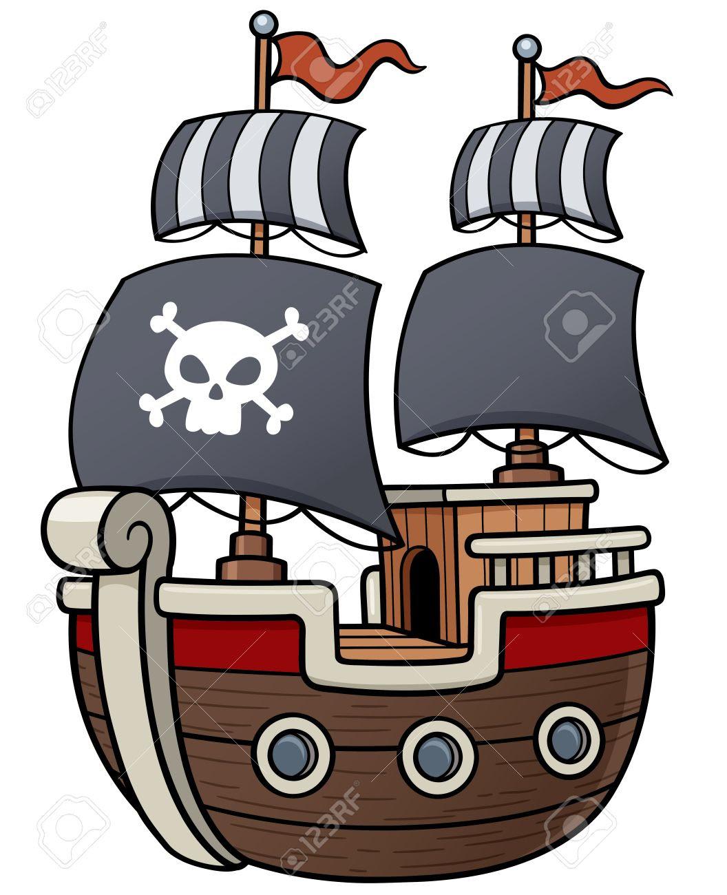 海賊船 イラスト