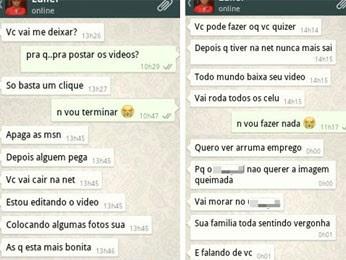 Homem é preso acusado de ameaçar ex-namorada com vídeos íntimos (Foto: Divulgação / Polícia Civil)