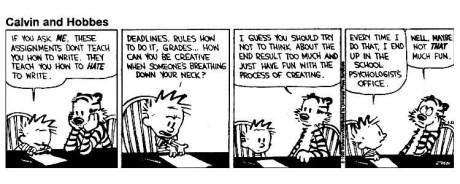 creative Calvin