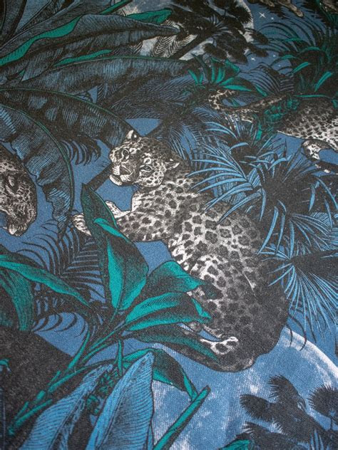 nocturnal faunacation linen fabric divine savages