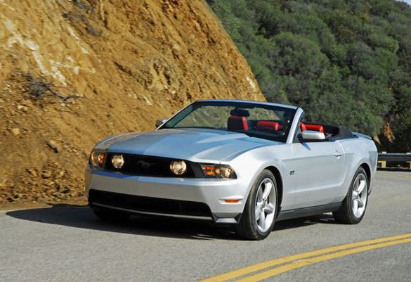 Ford Mustang Gt 2010 Convertible. 2010 Ford Mustang GT