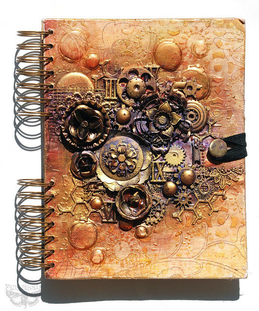Finn's Mixed-media journal - *Prima*