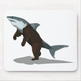 Bearshark mousepad