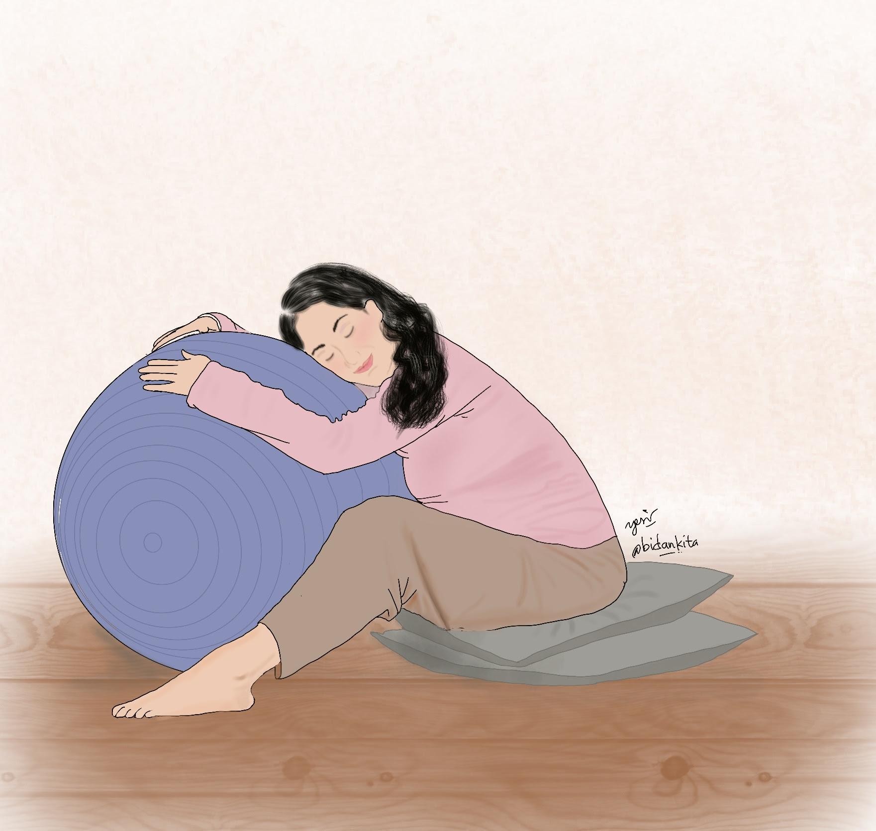adalah kondisi dimana punggung bayi berada di punggung ibu dan memasuki pelvis dengan kep Occiput Posterior (OP)
