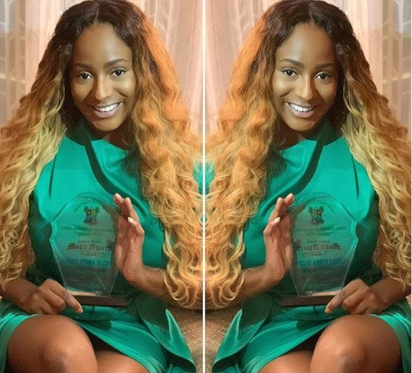 DJ Cuppy Celebrates Winning 'Artist Of The Year Award From Lagos State Govt