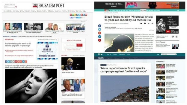 Caso repercutiu na mídia internacional