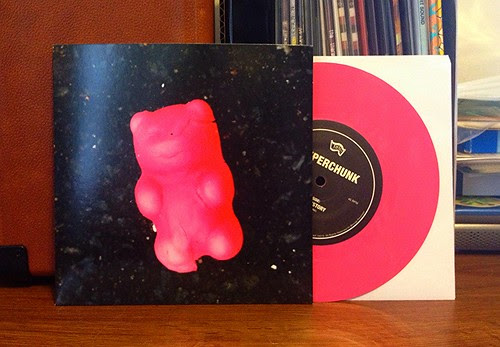"Superchunk - I Hate History 7"" - Pink Vinyl by Tim PopKid"