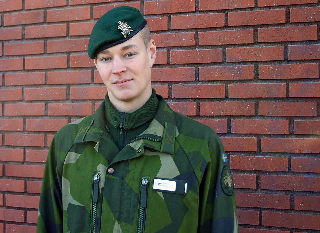 A Swedish Marine Soldier