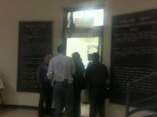 Allanamiento en la oficina de Justo Orozco en la Asamblea Legislativa.