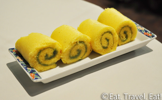 Lunasia Chinese Cuisine- Alhambra, CA: Thousand Layered Roll