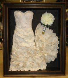 Best 25  Wedding dress shadow box ideas on Pinterest