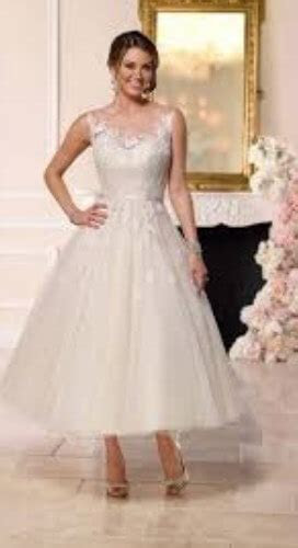 100  Best Tea Length Wedding Dresses for Older Brides (2nd