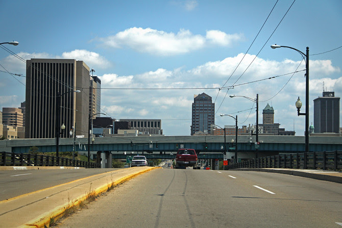 Dayton, Ohio Skyline