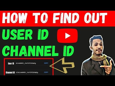 How To Find Out Youtube Channel ID & User ID (New Update 2021 )  How To See User ID And Channel ID