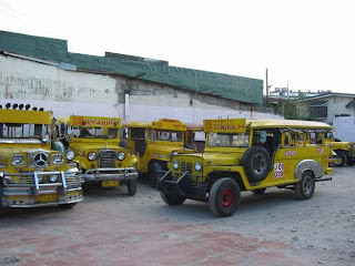 Jeepneys in Subic