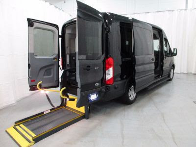 New Wheelchair Van For Sale 2015 Ford Transit Wagon 350