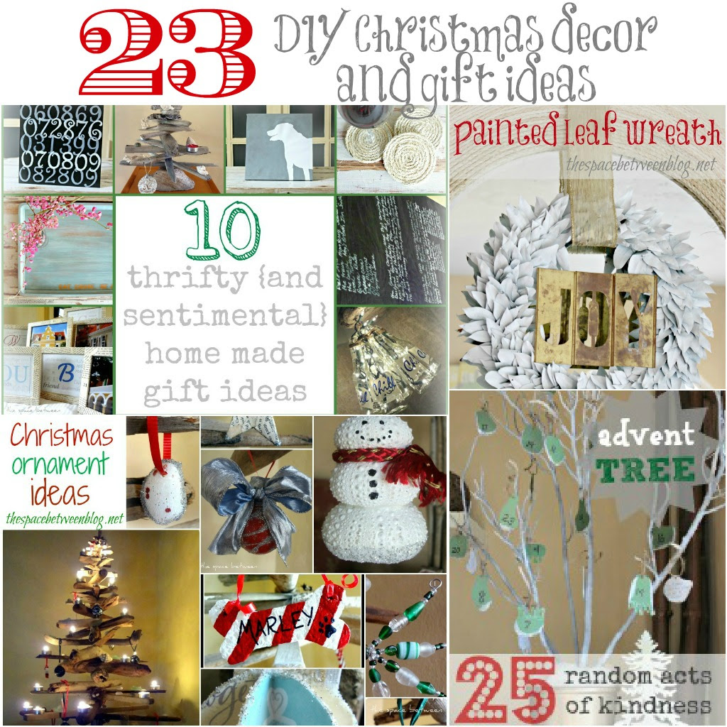 23 DIY Christmas decor and gift ideas  the space between