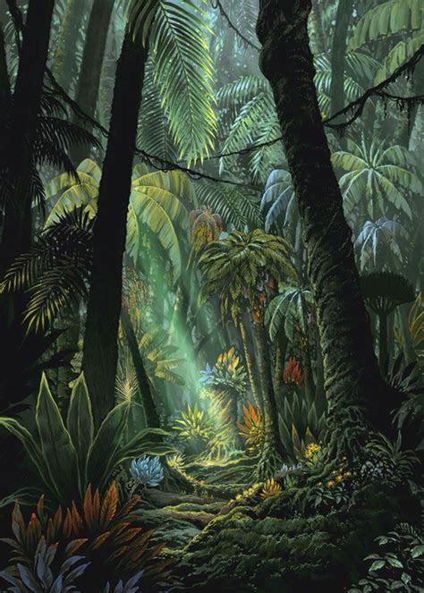 etrian odyssey jungle art reference  inspiration