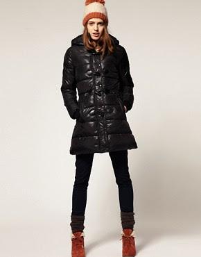 Image 4 ofASOS Padded Duffle Coat