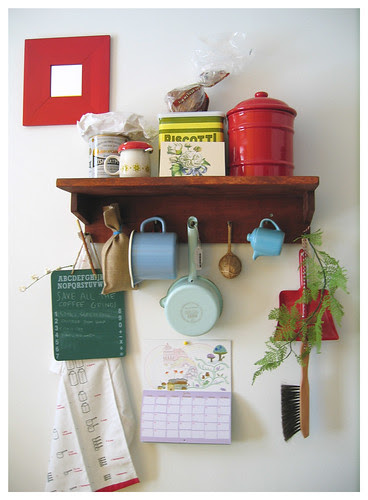 my crowded shelf