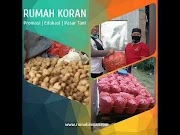 Rumah Koran Untuk Pemasaran Hasil Pertanian