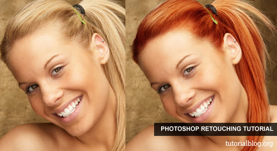 Change Hair Color Photoshop Tutorial