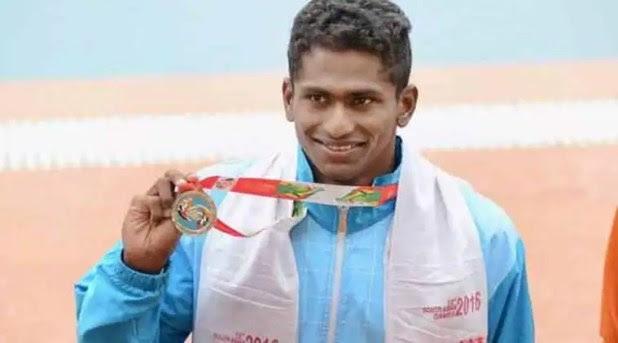 Image result for Swimmer Sajan Prakash