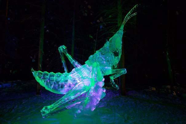 Εκπληκτικά έργα τέχνης από ένα κομμάτι πάγου (15)