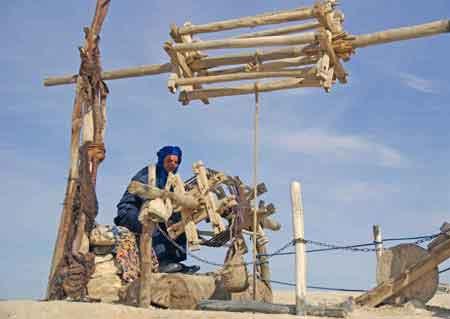 les puits dans le grand suc du Maroc, aqueducs