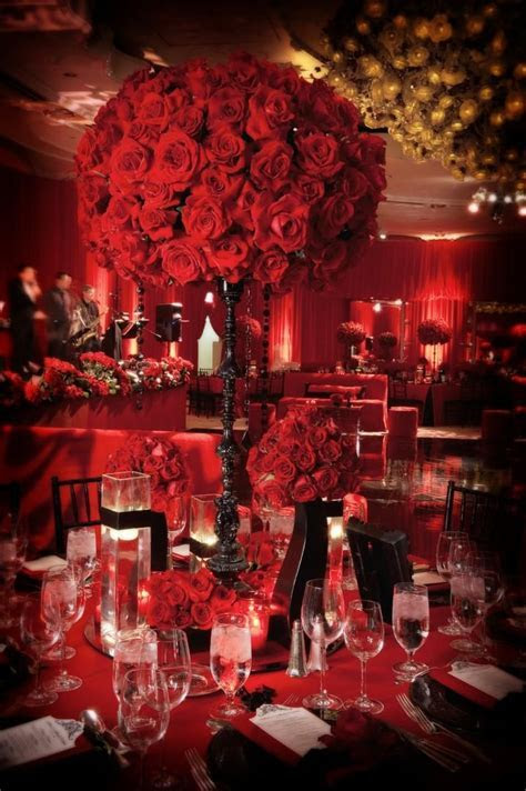 287 best Red and black inspired wedding images on Pinterest