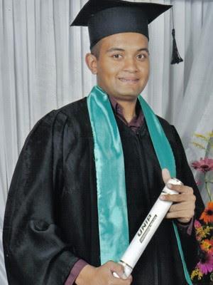 Filipe Daniel ficou mais de 2 meses apenas estudando para concursos (Foto: Arquivo pessoal)