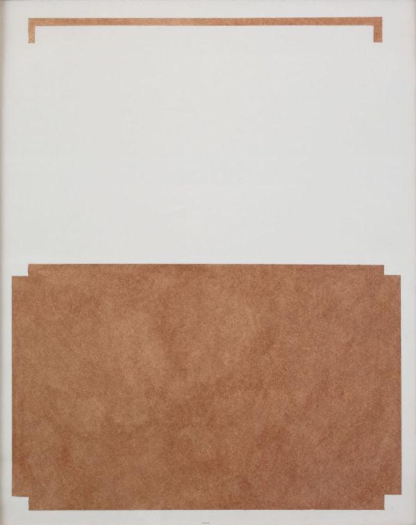 william cordova, Sin título, 2016, cacao peruano sobre papel, 79.4 × 63.8 cm. Colección del artista. Cortesía: Sikkema Jenkins & Co., Nueva York